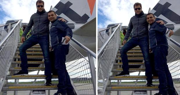 بالصور: عامر زيان من ملبورن الى سيدني في طائرة خاصّة