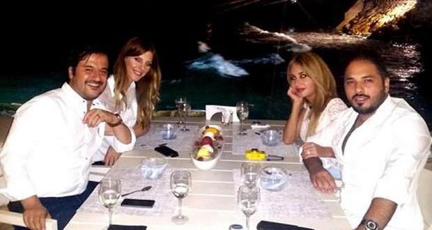 بالصورة: رامي عياش وداليدا في عشاء مميّز مع جان ماري رياشي وزوجته