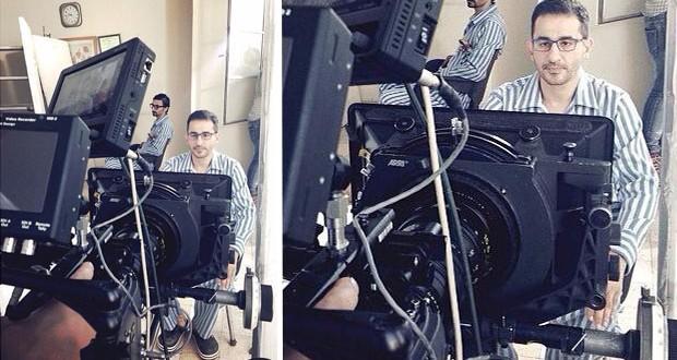 """بالصورة: أحمد حلمي بالـ Pajama في كواليس """"صنع في مصر"""""""