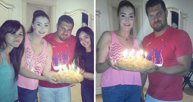 بالصور: غادة عبر الرازق إحتفلت بعيد ميلادها وسط مفاجأة من العائلة والأصدقاء