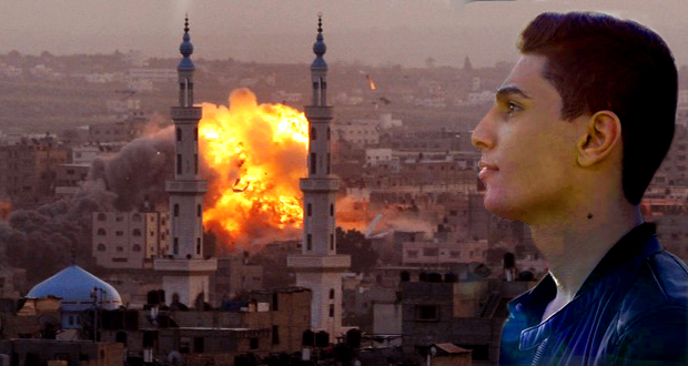 بتجرد: محمد عساف بكى غزّة وشهداء وطنه فلسطين والسواد إجتاح صفحاته