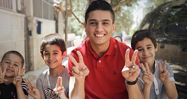 بالفيديو: محمد عساف عنوان للإنسانية ومن مخيم الزعتري يعرض قصّة نزوح أطفال