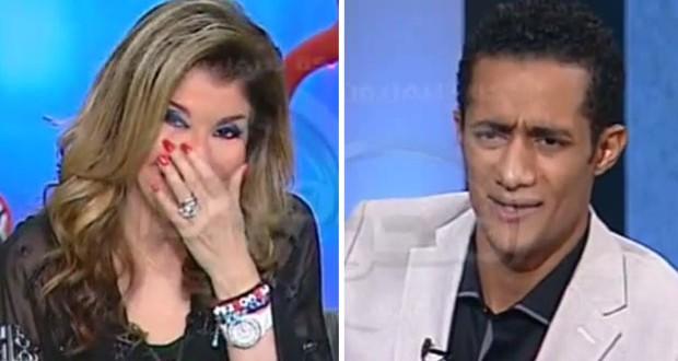 بالفيديو: هالة سرحان تغرق بالبكاء بعد تجسيد محمد رمضان لشخصية أحمد زكي
