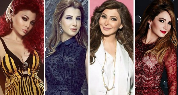 نانسي عجرم، إليسا، هيفاء وهبي ديانا حداد يحصدن وسام التميز لأكثر الشخصيات تأثيراً