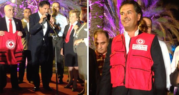 بالصور: راغب علامة حضر حفل سحور الصليب الأحمر اللبناني وقدّم دعمه الكامل