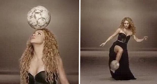 """شاكيرا تحيي حفل ختام كأس العالم 2014 بأغنيتها """"La La La"""""""