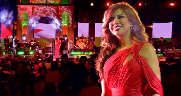 نجوى كرم أشعلت مهرجان جميلة في أقوى حفلات الجزائر وصوتها صدح سلاماً