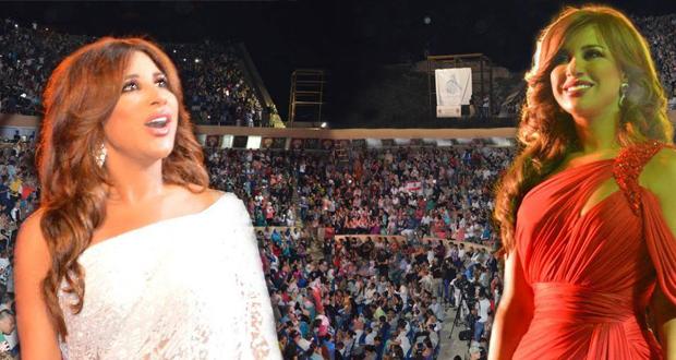 بالصور: نجوى كرم وتظاهرات جماهيرية بين مهرجان جميلة وكازيف في الجزائر