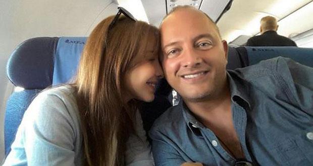 نانسي عجرم إلى كان وSelfie رومانسية في الطائرة مع زوجها أشعلت المواقع