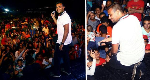 بالصور: رامي صبري أحيا حفل ناجح في سيدي عبد الرحمان في الساحل الشمالي