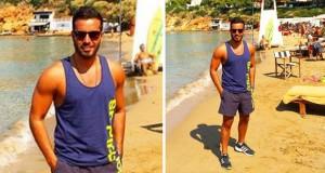 بالصورة: سعد رمضان على أحد شواطئ اليونان ويشعل المعجبات