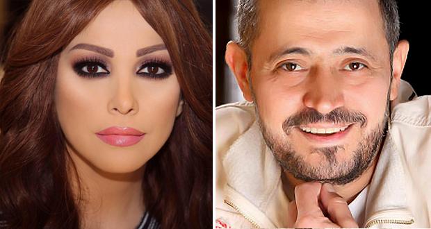 سهرة خاصة بين أمل حجازي وجورح وسوف – بالصورة