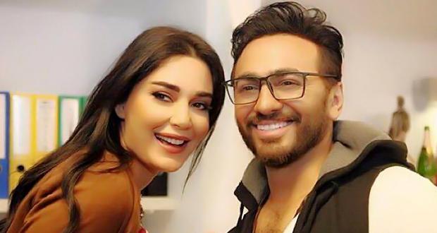 لقاء جديد بين سيرين عبد النور وتامر حسني – التفاصيل
