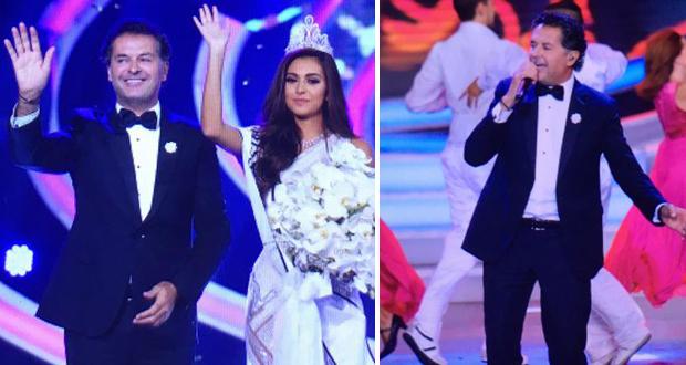 راغب علامة توّج سهرة ملكة جمال لبنان ووجه تحية للوطن