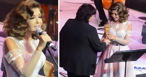 الأوبرا المصرية كرّمت سميرة سعيد والجمهور هتف بإسمها
