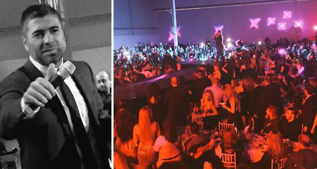 في حفل وائل كفوري في السويد: حضور جماهيري أذهل الجميع
