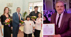 مركز راشد لذوي الاحتياجات الخاصة يكرم الدكتور وليد ابو دهن في دبي