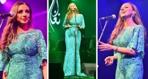 أنغام تتألّق وتهدي جمهور الإسكندرية 22 أغنية – بالصور