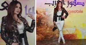 هيفاء وهبي تتألّق وتسرق الأنظار في إحتفالية صقور العرب – بالصور