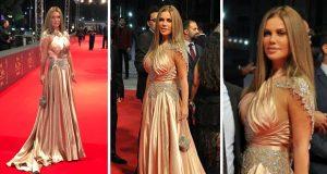نيكول سابا تتألّق وتسرق الأنظار في حفل توزيع جوائز السينما العربية