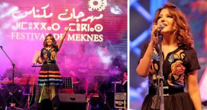 سميرة سعيد تضيء ليل مكناس وتتألق بحضور الآلاف
