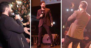 تامر حسني توّج أقوى حفلات ديترويت والآلاف حاصروا مسرحه