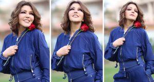 سميرة سعيد تتألق بإطلالة شبابية في عيد الحب