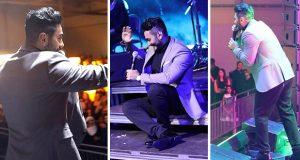تامر حسني توّج أقوى حفلات السويد والآلاف هتفوا باسمه في ستوكهولم