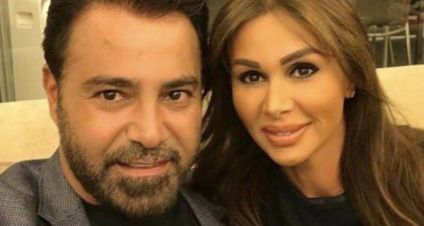 """عاصي الحلاني يحتفل بعيد ميلاد زوجته: """"بحبك بجنون"""" – بالفيديو"""