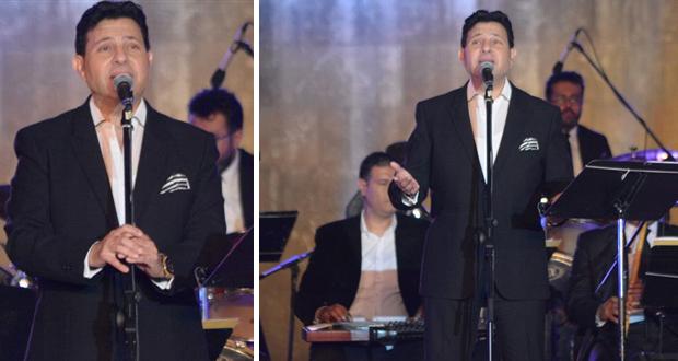 هاني شاكر نجم افتتاح مهرجان القلعة – بالصور