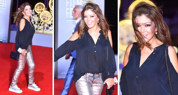 """سميرة سعيد تسرق الأنظار بإطلالة شبابية مميّزة في """"مهرجان الجونة السينمائي"""""""