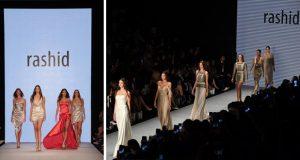 أربع ملكات جمال شاركوا في عرض التركي رشيت بازيبالي