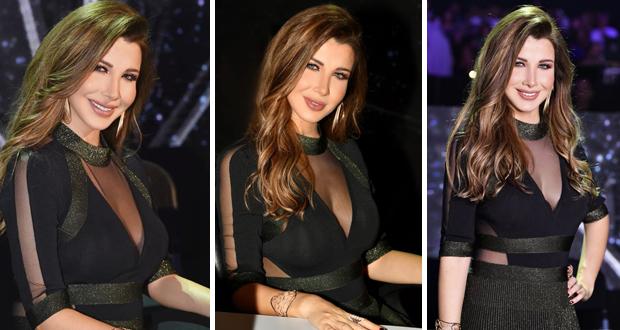 نانسي عجرم تتألق جمالًا وأناقة في حفل ملكة جمال لبنان