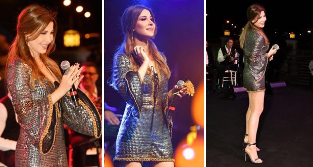 نانسي عجرم تضيء سماء قبرص في حفل أكثر من رائع – بالصور