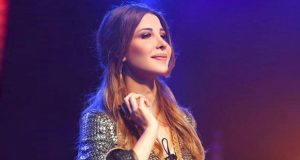 """نانسي عجرم أول فنانة عربية تنال """"نجمة دبي"""" في ممشى المشاهير"""