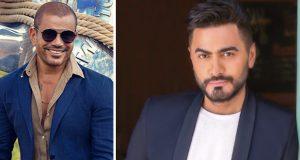 """""""إنت إزاي غير؟"""".. عمرو دياب يسرق أغنية تامر حسني!"""