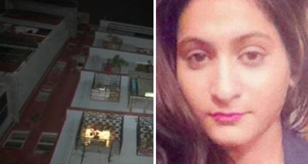 ممثلة هندية قفزت عن شرفتها وتوفيت على الفور
