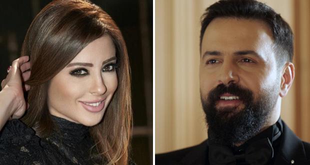 تيم حسن ووفاء الكيلاني بصورة رومانسية وأخرى عفوية