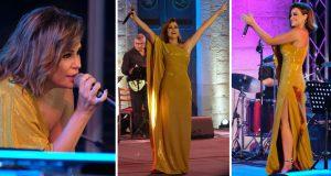 كارول سماحة تتألق بأجمل حفلات صيف لبنان في بكاسين
