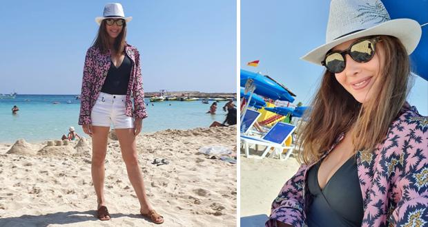 نانسي عجرم تسرق الأنظار على شاطئ البحر – بالصور