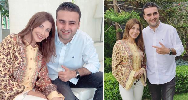 نانسي عجرم تستضيف الشيف بوراك أوزدمير في منزلها – بالفيديو