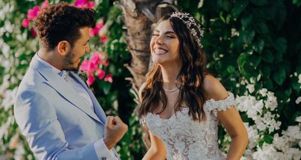 """نجمة مسلسل """"فضيلة وبناتها"""" تحتفل بزفافها بـ 3 فساتين"""