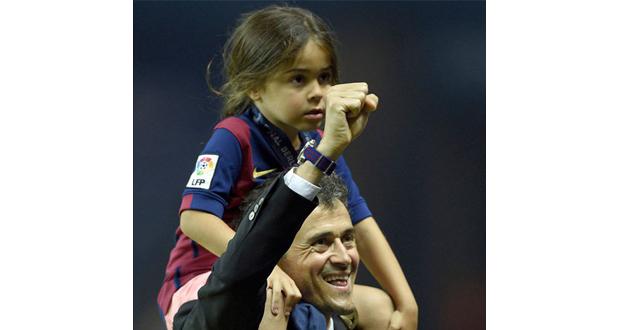 مدرب برشلونة السابق ينعي طفلته ابنة الـ9 سنوات بكلمات تحرق القلوب