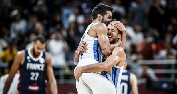 الأرجنتين في نهائي بطولة العالم لكرة السلة