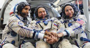 رائد الفضاء الإماراتي ينشر صورة من ارتفاع 400 كم ويطلب تحديد المكان