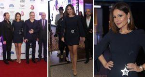 """كارول سماحة متألقة في احتفالية إطلاق فيلم """"بالصدفة"""" في دبي – بالصور"""