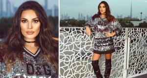 نادين نجيم تضجّ جمالًا في دبي والجمهور يستقبلها بهتافات الحبّ