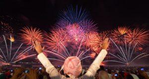الإمارات تدخل موسوعة غينيس خلال احتفالات رأس السنة