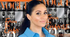 """بعد تخلّيها عن دورها الملكي.. ميغان ماركل تحتفل بالإنجاز التاريخي مع مجلّة """"Vogue"""" العالمية!"""