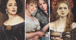 فنانات عربيات تحولن إلى أميرات من القرن الـ18